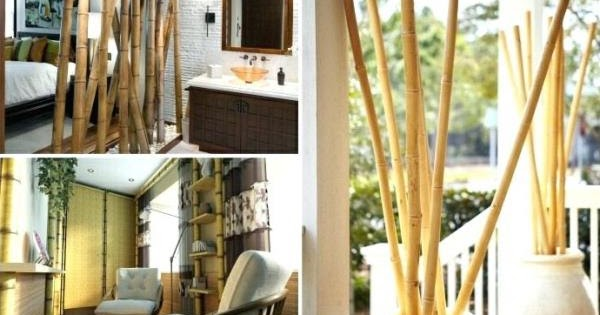 dekorasi rumah bambu